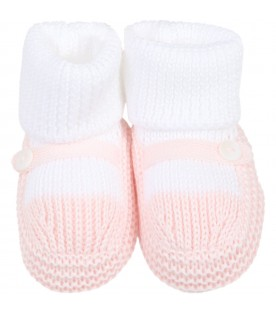 Multicolor baby bootee for babygirl