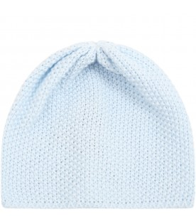 Light blue hat for babyboy