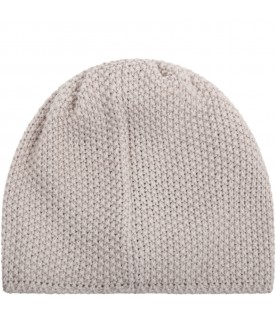 Beige hat for babykids