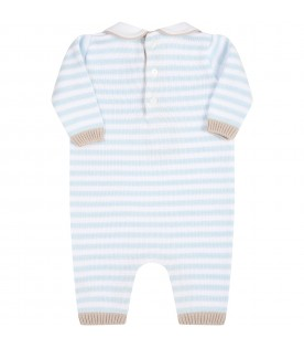 Multicolor babygrow for babyboy