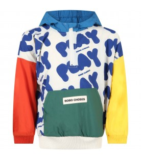 Multicolor windjacket for kids