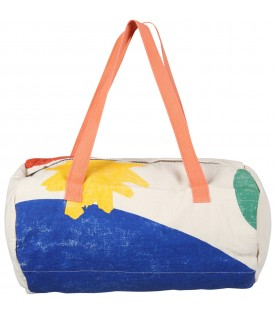 Ivory bag for kids with logo