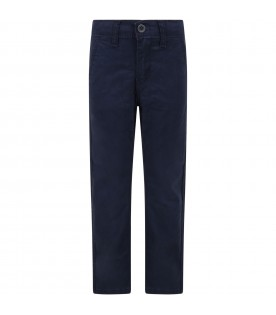 Blue ''Chino'' trousers for boy