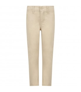 Beige ''Chino'' trousers for boy