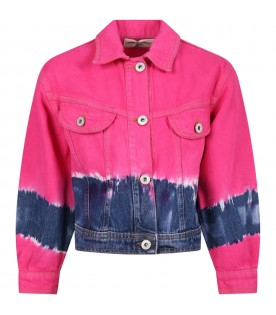 Multicolor jacket for girl