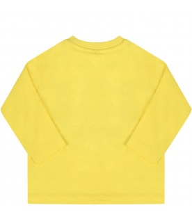 Yellow t-shirt for babyboy