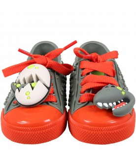 Multicolor shoes for boy with egg