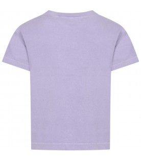 Lilac t-shirt for kids