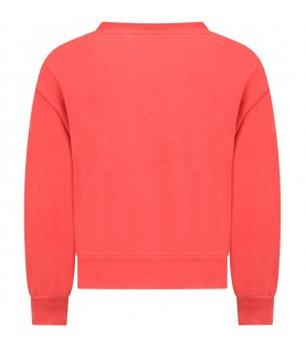 Red sweatshirt for kids