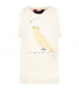 Ivory tank top for kids