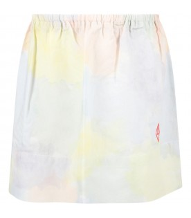 Multicolor skirt for girl