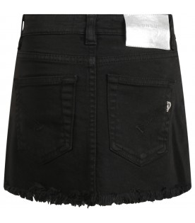 Black skirt for girl
