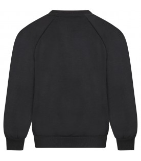 Black sweatshirt for kids