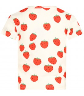 Iovry T-shirt for kids with strawberries