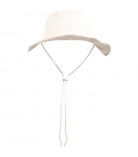 Ivory hat for kids