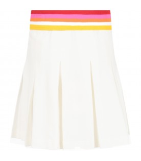 White skirt for girl