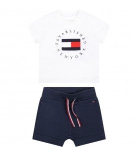 Multicolor set for babyboy with iconic flag