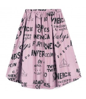 Lilac skirt for girl
