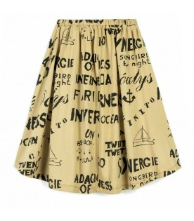 Yewllow skirt for girl
