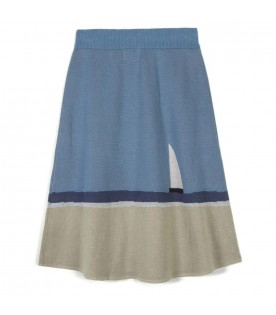 Light blue skirt for girl