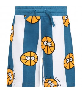 Multicolor short for boy with basketballs