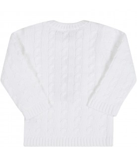 White sweater for babykids