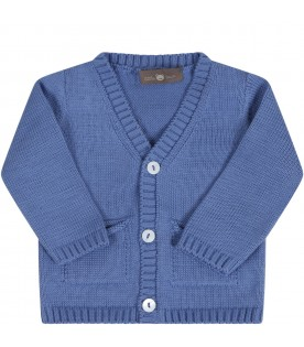 Azure cardigan for babyboy