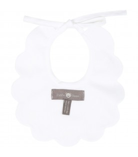 White bib for babykids