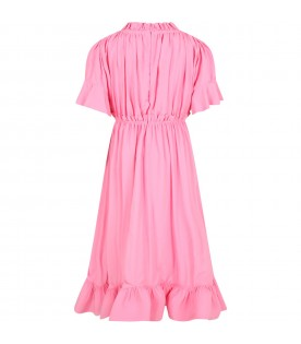 Pink dress for girl