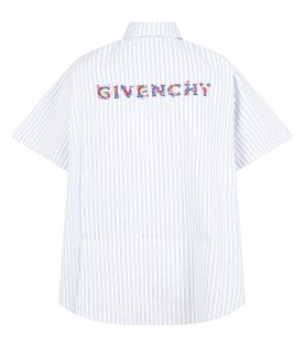 Multicolor shirt for girl with logo