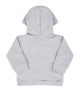Grey sweatshirt for babykids
