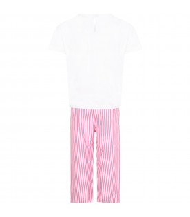 Multicolor pajamas for girl
