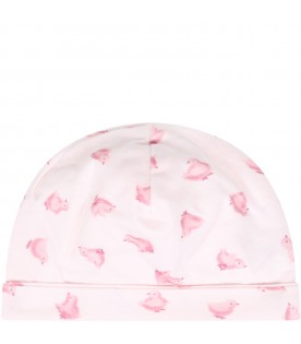 Pink hat for babygirl