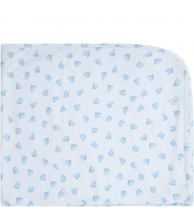 Light blue blanket for babyboy