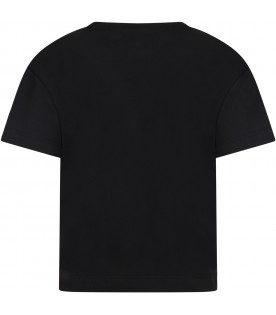 Black t-shirt for boy