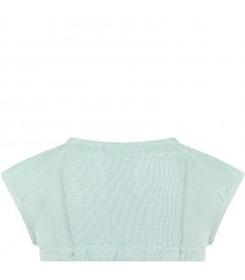 Green top for girl
