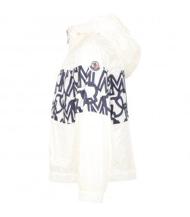 White ''Vilna'' windbreaker for girl