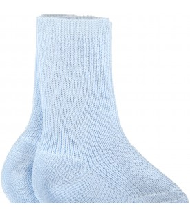 Light blue socks for babyboy