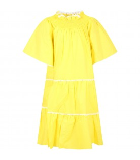 Yellow dress for girl