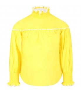 Yellow blouse for girl