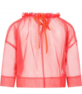 Red blouse for girl