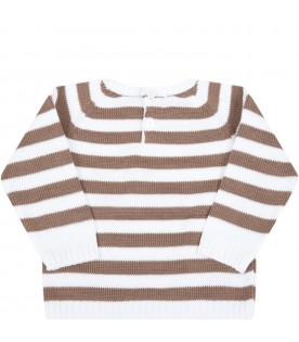 Multicolor sweater for baby boy