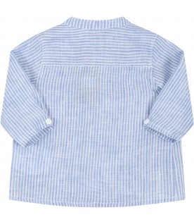 Light blue shirt for baby boy