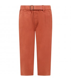 Red ''David'' trouser for kids