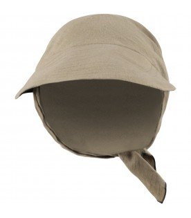 Military green hat for girl