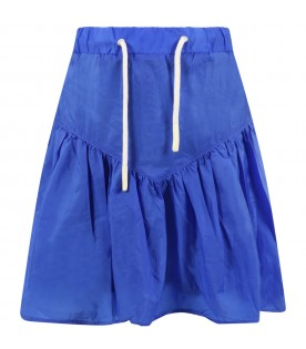 Royal blue skirt for girl
