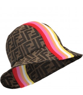 Brown cloche for girl