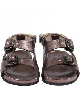 Brown sandals for kids