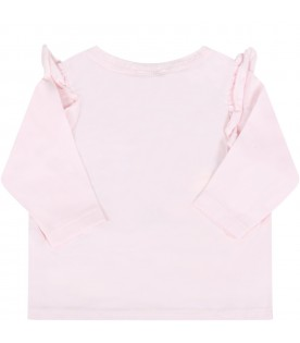 Pink t-shirt for babygirl