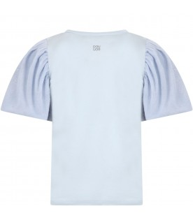 Light blue t-shirt for girl